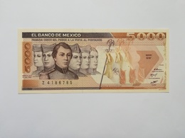 MESSICO 5000 PESOS 1985 - Messico