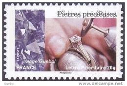 France Autoadhésif N° 1081_A ** Pierres Précieuses, Provenance De Feuille PRO. - France