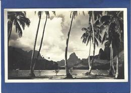CPA Tahiti Océanie Océania Polynésie Carte Photo René Moreau RPPC Non Circulé - Tahiti