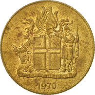 Monnaie, Iceland, Krona, 1970, TTB, Nickel-brass, KM:12a - Islande