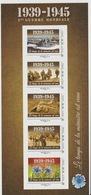 France 1939 - 1945 Bloc Collector Adhésif 2ème Guerre Mondial World War Second 2. Weltkrieg Le Temps De La Mémoire MNH** - Luchtpost