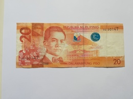 FILIPPINE 20 PISO 2016 - Filippine