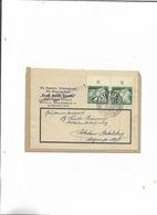 Brief Von Stettin Nach Potsdam-Babelsburg/Von Der Deutschen Arbeitsfront/Kraft Durch Freude Von Gauwart Stettin 1943! - Deutschland