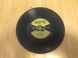 """Vtg. Bell Record Sy Oliver """" I'm Walking Behind You  & """"O"""";    7"""" Vinyl Record But 78 Rpm - Disco & Pop"""