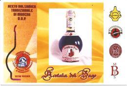 Aceto Balsamico, Vino, Modena 28.4.2012, Cartolina Con Annullo Figurato Primo Giorno Di Emissione - Alimentazione