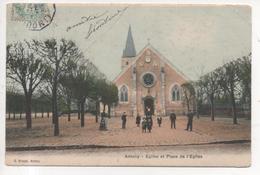 92.329/ ANTONY - Eglise Et Place De L'église - Antony