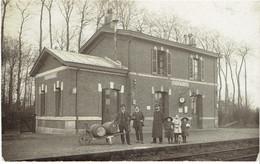 76 SAINT OUEN DU BREUIL  Carte Photo, La Gare Désaffectée - France