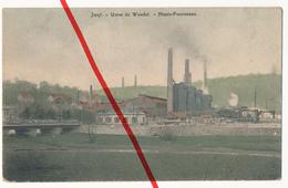 Jœuf Joeuf - Usine De Wendel - Hauts-Fourneaux - 1913 - Briey
