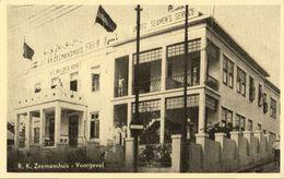 Curacao, WILLEMSTAD, Roman Catholic Sailor's Home, Facade (1950s) Postcard - Curaçao