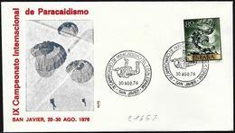 Spagna/Spain/Espagne: Campionati Internazionali Di Paracadutismo, International Parachuting Championships, Championnats - Paracadutismo