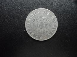 BOLIVIE : 20 CENTAVOS   1995   KM 203     SUP - Bolivie