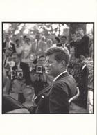 JOHN F. KENNEDY - Omaha Nebraska 1959, Fotokarte News Productions Printed In Italy - Persönlichkeiten