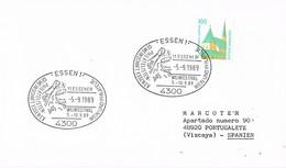 30086. Carta ESSEN (Alemania Federal) 1989. Wein, Vino. WEINFESTIVAL - [7] República Federal