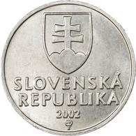 Monnaie, Slovaquie, 10 Halierov, 2002, TTB, Aluminium, KM:17 - Slovaquie