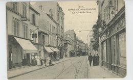 NOGENT SUR MARNE - La Grande Rue - Nogent Sur Marne