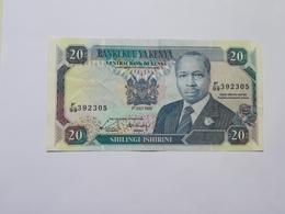 KENIA 20 SHILINGI 1989 - Kenya
