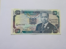 KENIA 20 SHILINGI 1989 - Kenia