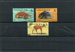 HONG-KONG 1982 Animals CTO - Hong Kong (...-1997)