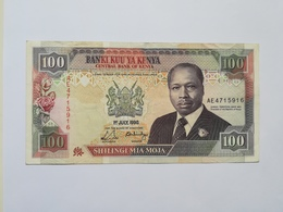 KENIA 100 SHILINGI 1990 - Kenya