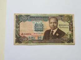 KENIA 200 SHILINGI 1986 - Kenya