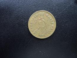 GUATEMALA : 1 CENTAVO     1987   KM 275.3     TTB - Guatemala