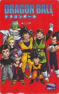 Carte Prépayée Japon - MANGA - DRAGON BALL ** ONE PUNCH ** - ANIME Japan Prepaid Tosho Card - BD COMICS Karte - 10648 - Stripverhalen