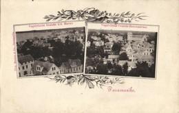 Suriname, PARAMARIBO, Aerial View Harbour And Gravenstraat (1899) Postcard - Surinam