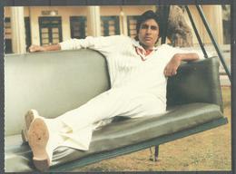 POSTCARD INDIA ,  INDIAN FILM ACTOR  AMITABH BUCHAN - Acteurs
