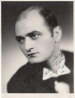 SCHAUSPIELER (Tschechoslowakei) Orig.Fotokarte Mit Orig. Autogramm, 1946 - Schauspieler