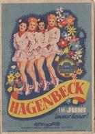 HAGENBECK - Programmkarte (doppelseitig), Orig.Karte 1943 - Cirque