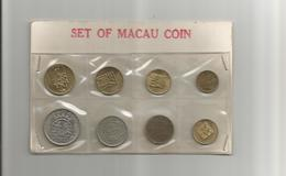 1984 SET MACAO COIN PATACAS - Rare + CHINESE OLD COINS - Gettoni E Medaglie