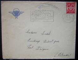 1961 Pau Base école Des Troupes Aéroportées (parachutistes), Lettre En Franchise Militaire - Cachets Militaires A Partir De 1900 (hors Guerres)
