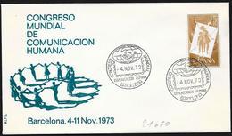 Spagna/Spain/Espagne: Congresso Della Comunicazione Umana, Congress Of Human Communication, Congrès De La Communication - Idioma