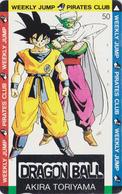 Télécarte Ancienne Japon / 110-011 - MANGA - DRAGON BALL - WEEKLY JUMP - Japan Phonecard - 10651 - Stripverhalen