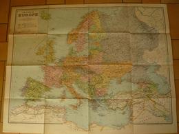 NOUVELLE EUROPE - Ancienne Et Nouvelle Limite D'Etat - Geographical Maps