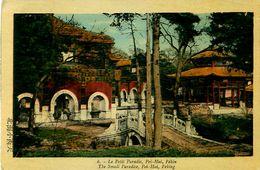 Cpa CHINE - PEKIN - Le Petit Paradis - Pei - Hai, The Small Paradise, Peking - China