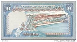 YEMEN ARAB P. 23b 10 R 1990 UNC - Jemen