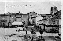 """VILLEREST  """"Place De La Mairie Et Grande Rue"""" - France"""