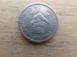 Southern Rhodesia   1 Shilling  1949  Km 22 - Rhodésie