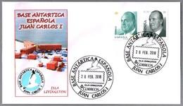 BASE ANTARTICA ESPAÑOLA JUAN CARLOS I . ISLA LIVINGSTON. 2018 - Estaciones Científicas