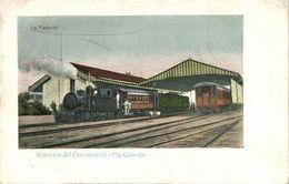 Venezuela, PUERTO CABELLO, Estación Del Ferrocarril, Railway Station (1899) - Venezuela