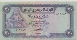 YEMEN ARAB P. 14a 20 R 1973   VF - Yémen