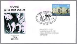 50 Años Viaje De BELKA Y STRELKA En El SPUTNIK 5. Perro - Dog. Wien 2010 - Hunde