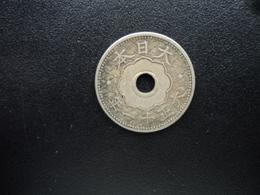 JAPON : 10 Sen  An 11 (1922)   Y 45     TTB - Japan