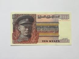 MYANMAR 10 KIAT - Myanmar