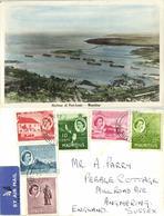 Mauritius, PORT-LOUIS, Harbour Scene (1957) RPPC Postcard - Mauritius