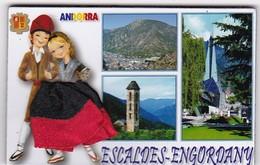 ESCALDES-ENGORDANY : Région D'Andorre (robe En Tissu) - Tourisme