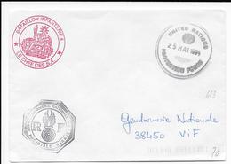 1994 - GENDARMERIE En BOSNIE - ENVELOPPE ONU De SARAJEVO - Marcophilie (Lettres)