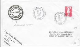 1991 - GENDARMERIE En TURQUIE - ENVELOPPE OTAN Du BPM 648 à INCIRLIK - Cachets Militaires A Partir De 1900 (hors Guerres)