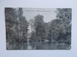 CPA - L'Etang Au Parc Léopold 1906 - Forêts, Parcs, Jardins